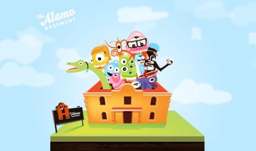 The Alamo Basement