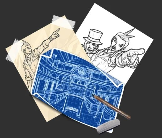 Blueprint and Sketches