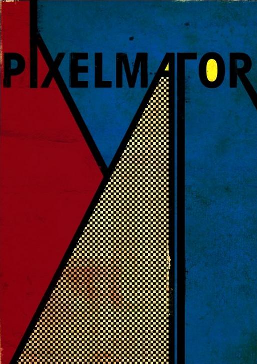 Stylish Retro Poster in Pixelmator