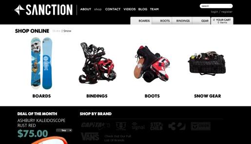 Sanction Snowboards and Skatboards