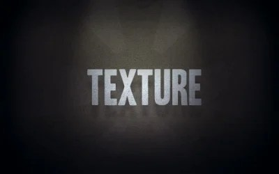 Add Visual Texture in 3 Easy Steps