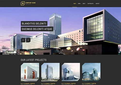 Modern Architecture Website Template