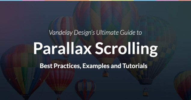 The Ultimate Guilde to Parallax Scrolling