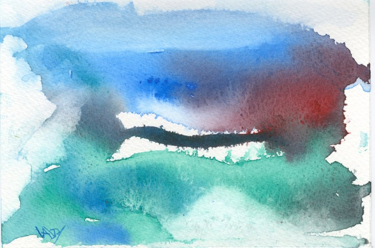 abstract watercolours 2016.02.16 life landscape