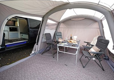 New for 2019 Rhone Vehicle Awning - Just Pitch It! Vango ...