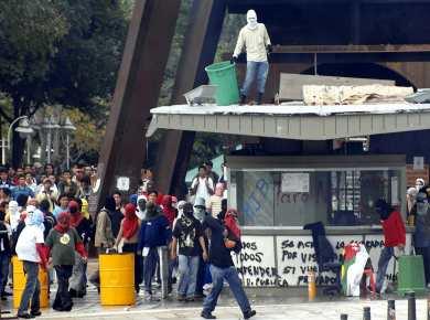Disturbios en la UIS dejaron 10 heridos | Noticias de santander, colombia y el Mundo ...