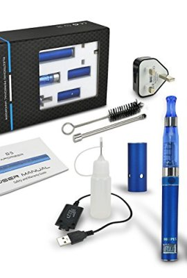 Dripex-E-Cigarette-Starter-Kit-Electronic-Cigarettes-Shisha-Vaporizer-Pen-Accessories-Dry-Herb-Wax-Oil-3-in-1-kits-1x-650mAh-Battery-with-LCD-Display-1x-650mAh-Battery-USB-and-UK-Mains-Plug-Charger-Li-0