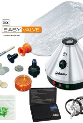 Premium-Volcano-Vaporizer-Classic-w-Easy-Valve-Kit-Scale-Mill-Grinder-Baggie-0