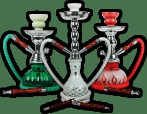 hookahs and shisha