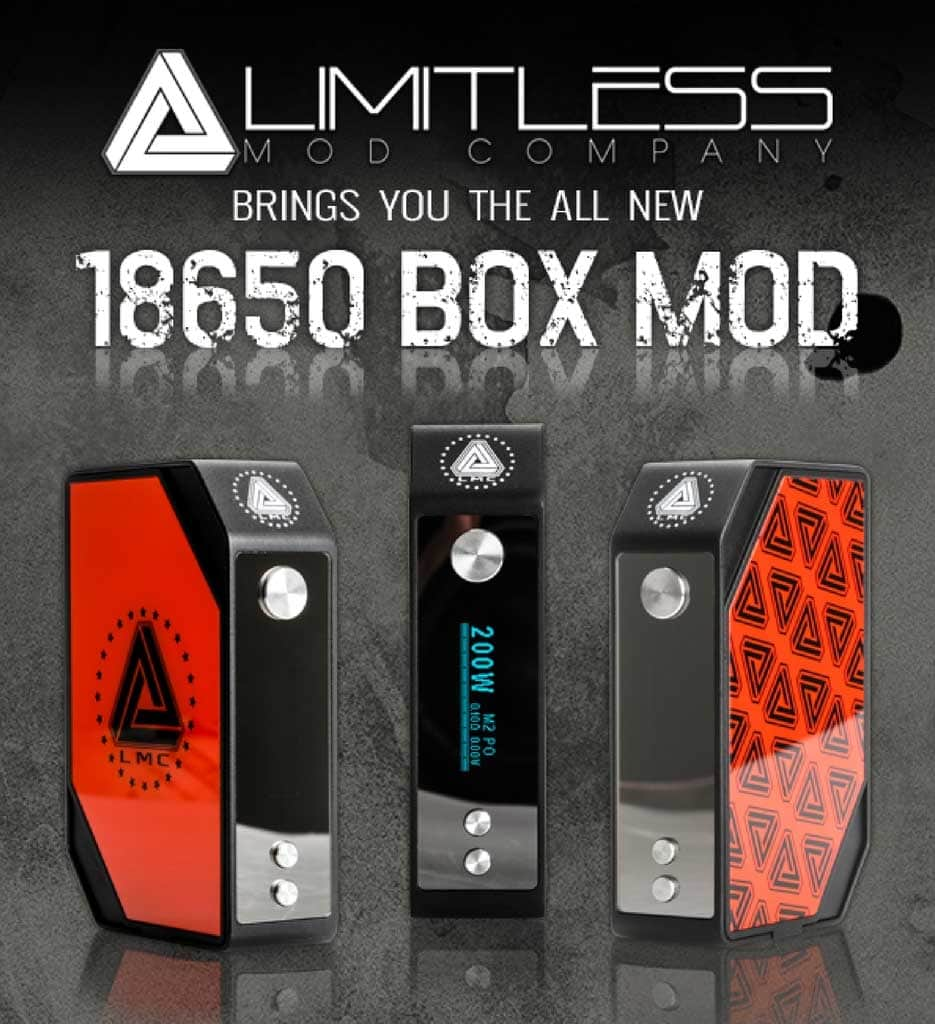 limitless box mod 200 watt