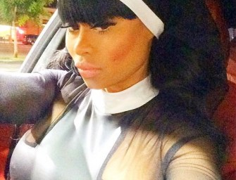 Tyga's Ex Blac Chyna Bares Butt for Amber Rose's Birthday Party (photos)