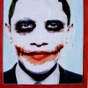 Barack Obama as the Joker