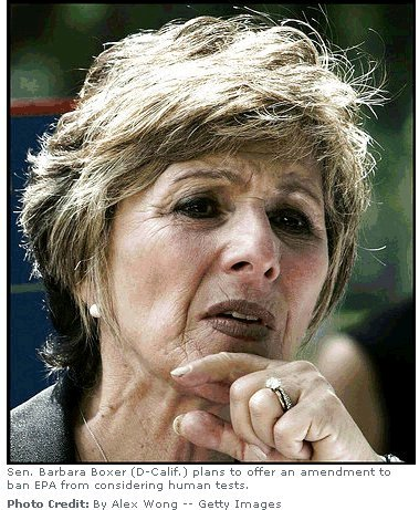 Barbara Boxer - LA Times say NO!