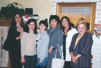 Dec 1999 - Shahrouz Marjan Steph Simin Becky Farzie