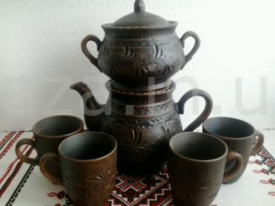 Набор добрый с 4 чашками