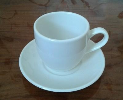 чашка кофе на блюдце 13,5 см