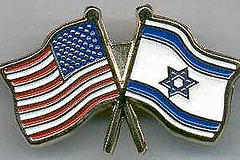 Us-Israel flag