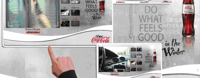Do What Feels Good: a micro-site developed for Coca-Cola
