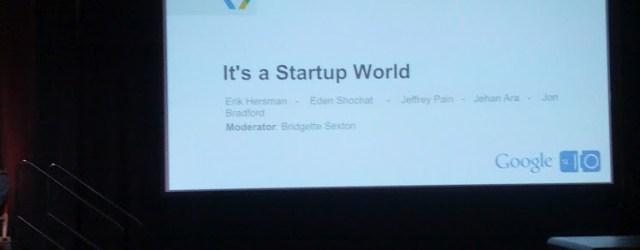 google I/O startups