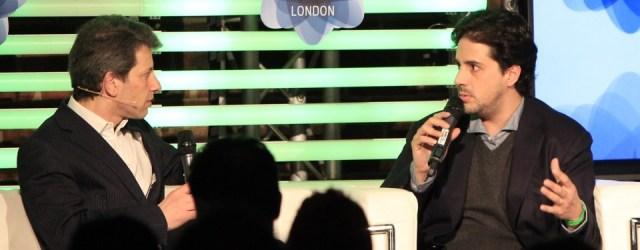 David Tisch and David Rowan at London Web Summit