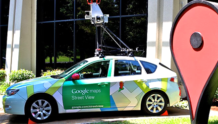 Google Street View Car coming to Israel