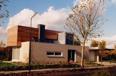 Nieuwbouw woning te Lekkerkerk