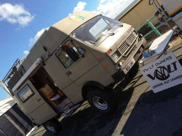 a go anywhere 4x4 syncro LT40 expedition camper