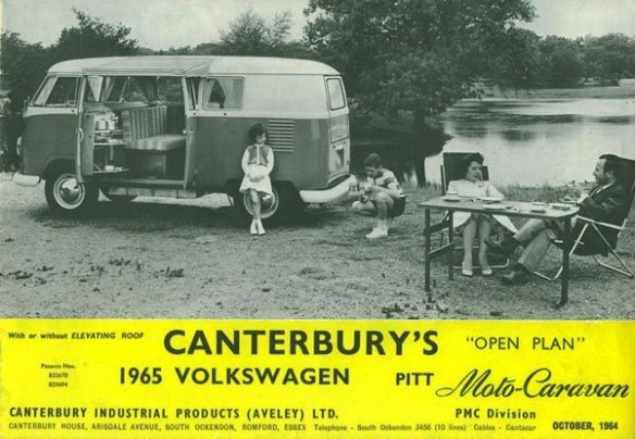A Canterbury Pitt Moto-Caravan conversion