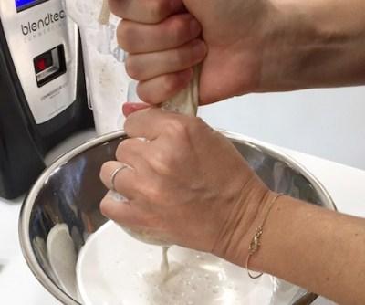 Raw Almond Milk Recipe | Vegan Food Quest