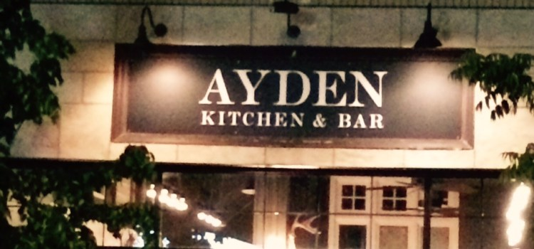Ayden Kitchen and Bar – Vegan in Saskatoon