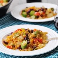 Vegan Creole Fried Rice