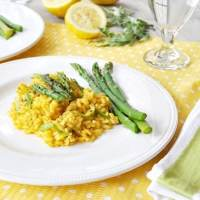 Vegan Lemon and Asparagus Risotto