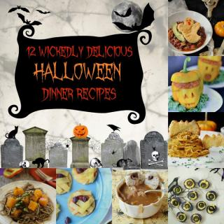 12 Wickedly Delicious Halloween Dinner Recipes
