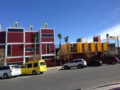 Shipping containers indeed!