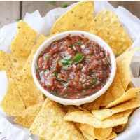 Easy Fresh Mexican Salsa