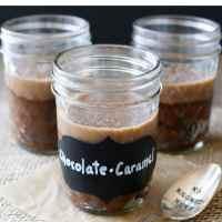 Salted Caramel Chocolate Espresso Protein Pudding