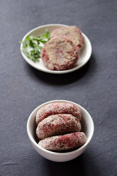 beetroot cutlet recipe, how to make beetroot cutlet | beetroot tikki recipe