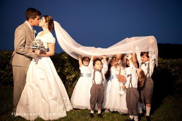 Damitas y pajes  en el matrimonio