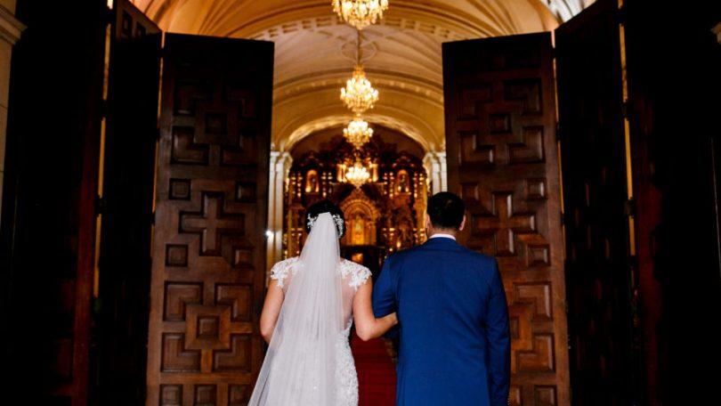 Matrimonio sobrio en Lima :: Natalie + Pedro