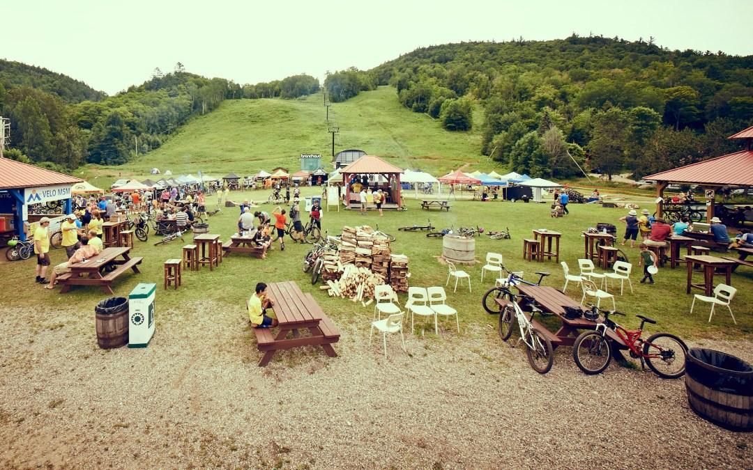 Festi-vélo au Mont-Sainte-Marie