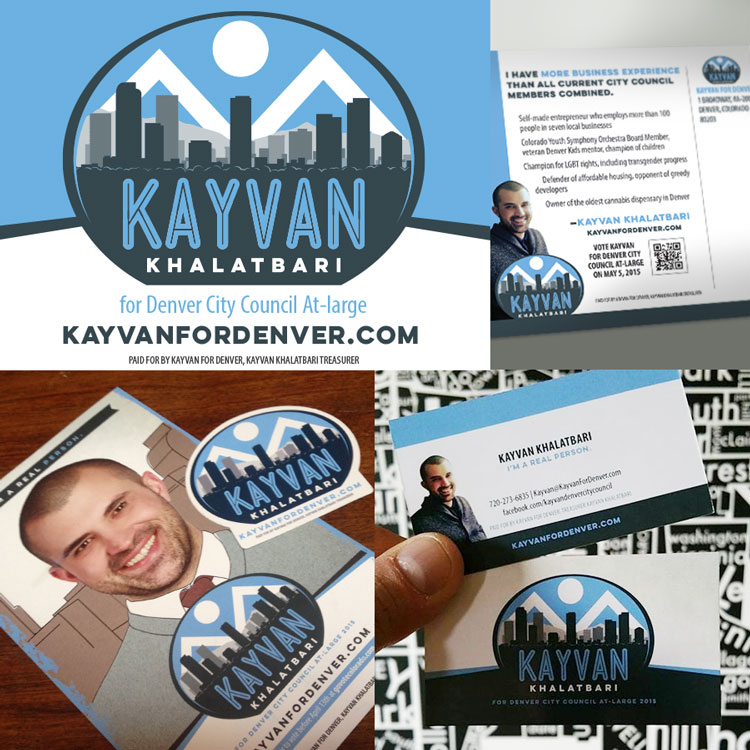Kayvan For Denver: Campaign Materials
