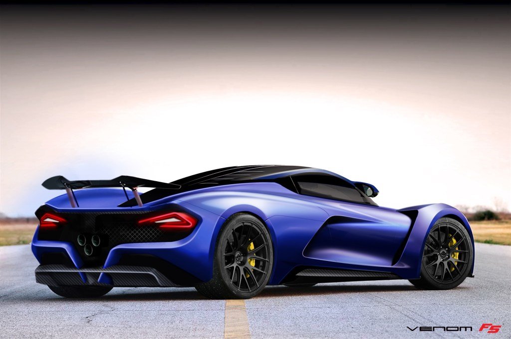Hennessey_Venom_F5 Blue