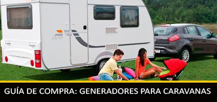 guia compra generadores caravanas