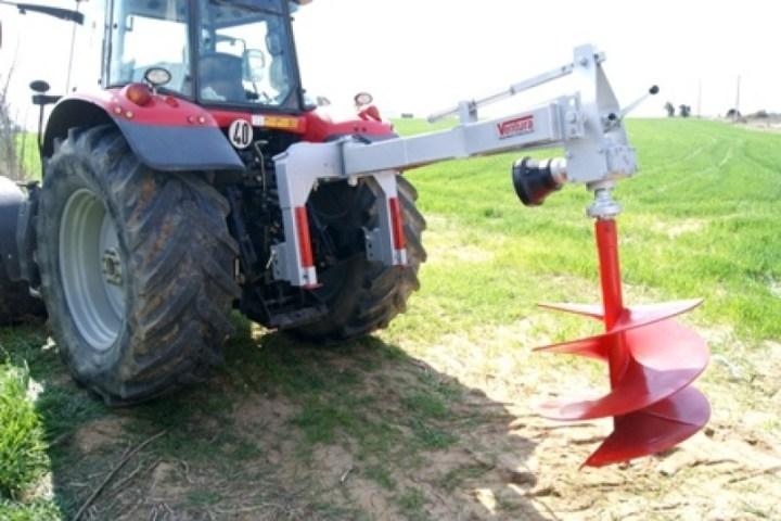 ahoyadora para tractor