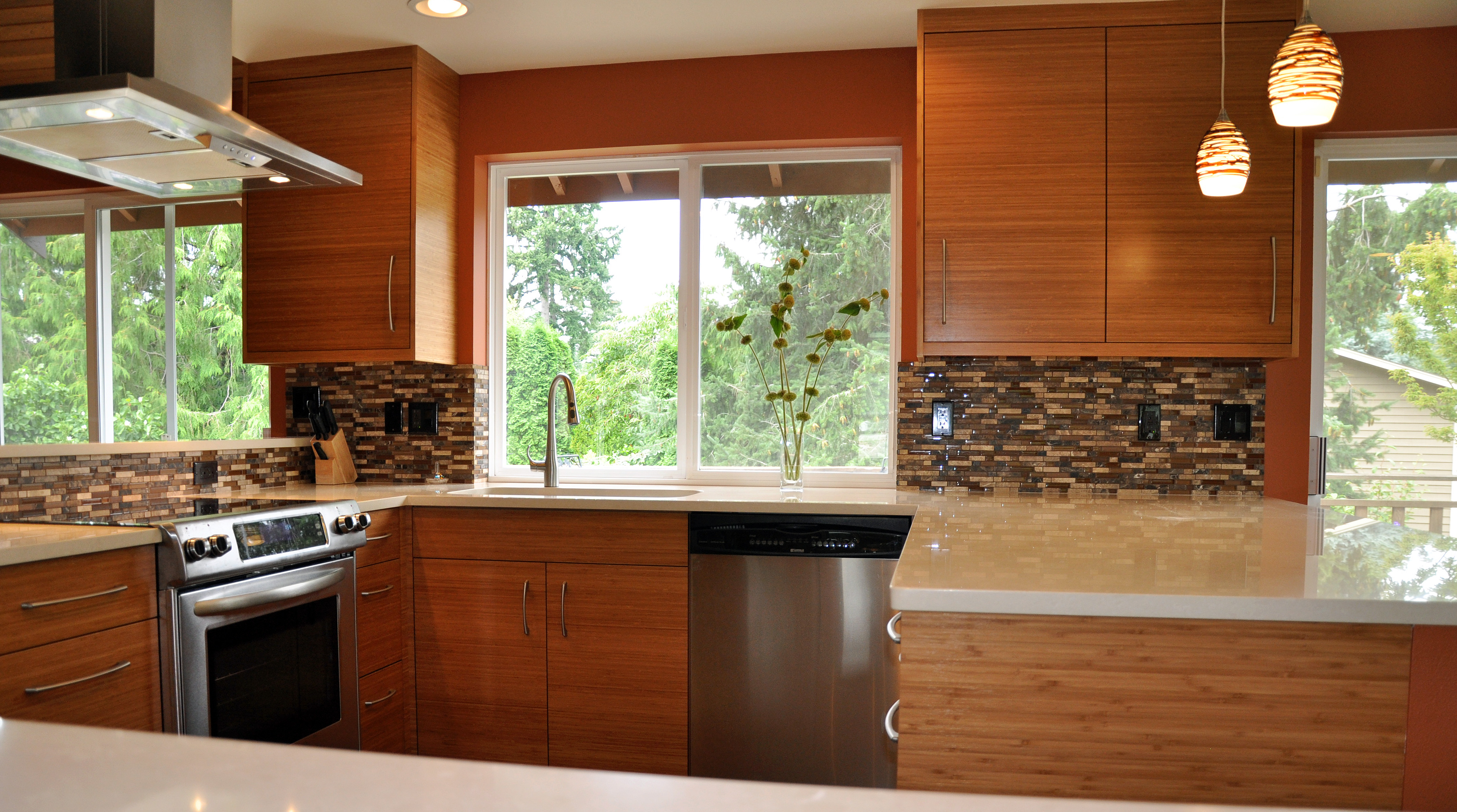 remodeling cost the chicken or the egg cost of kitchen remodel Seattle contemporary kitchen