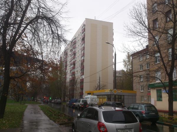 Жилой дом г.Москва, 2-я улица Марьиной Рощи, д.12.