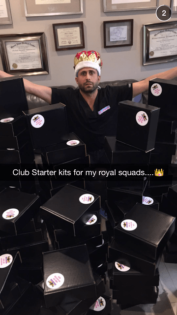 Our snapchat with Dr.Miami himself
