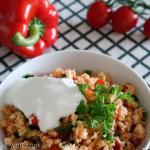 Couscous-Salat mit Joghurt