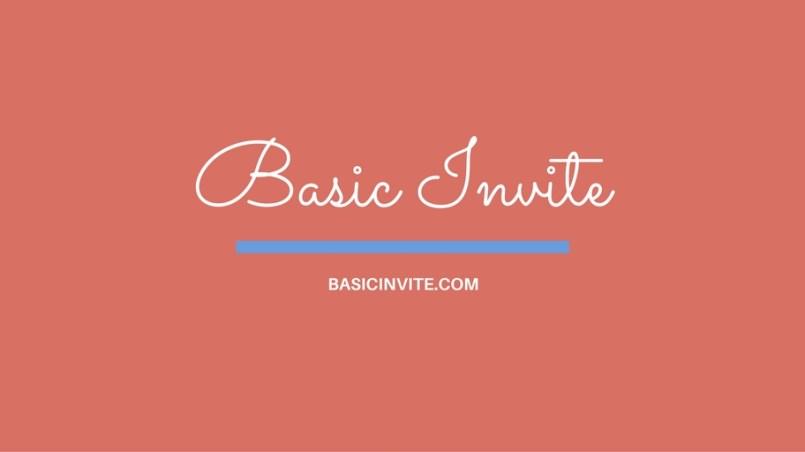 BasicInviteFeature