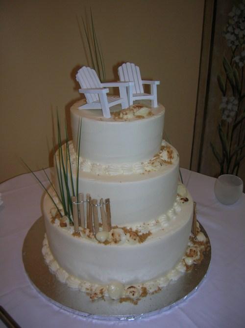Medium Of Beach Themed Cakes
